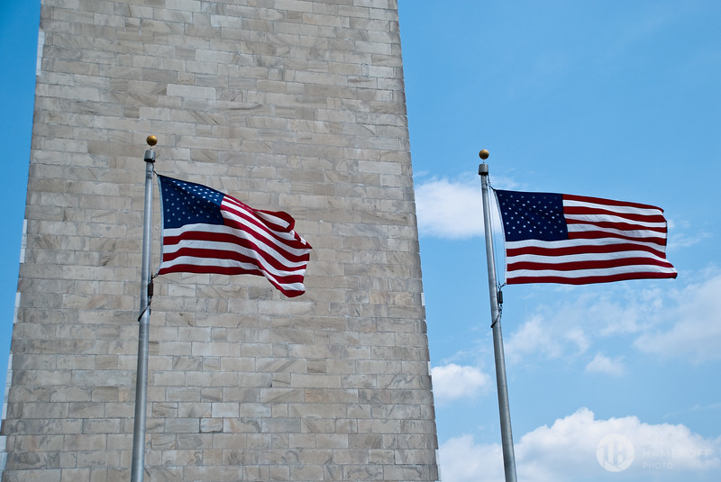 Two Flags, One Monument