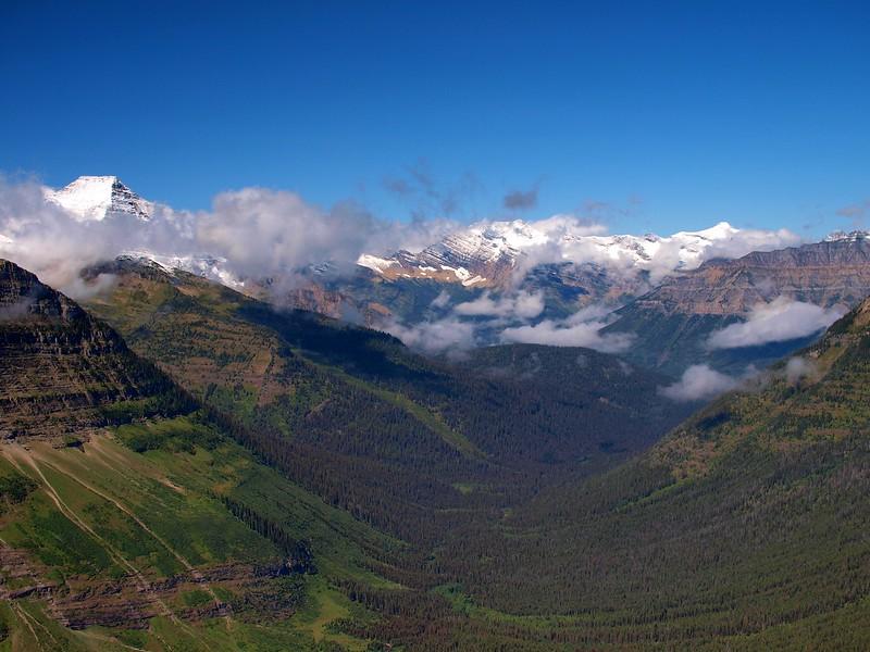 Dawson Pass Glacier National Park Montana