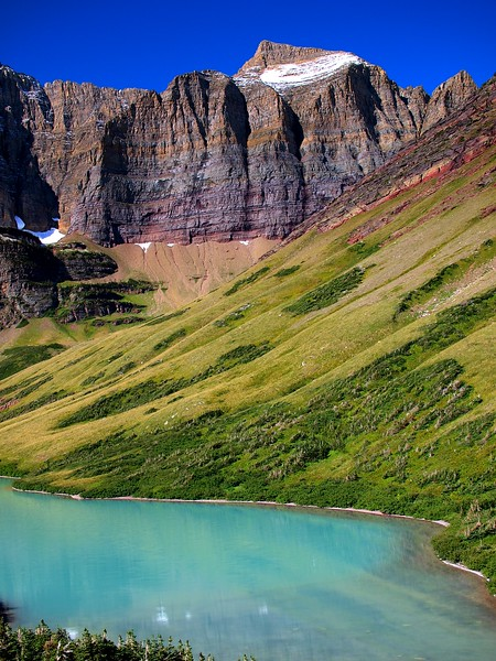 Cracker Lake Glacier National Park Montana