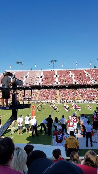 2017-09 Stanford Football vs ASU