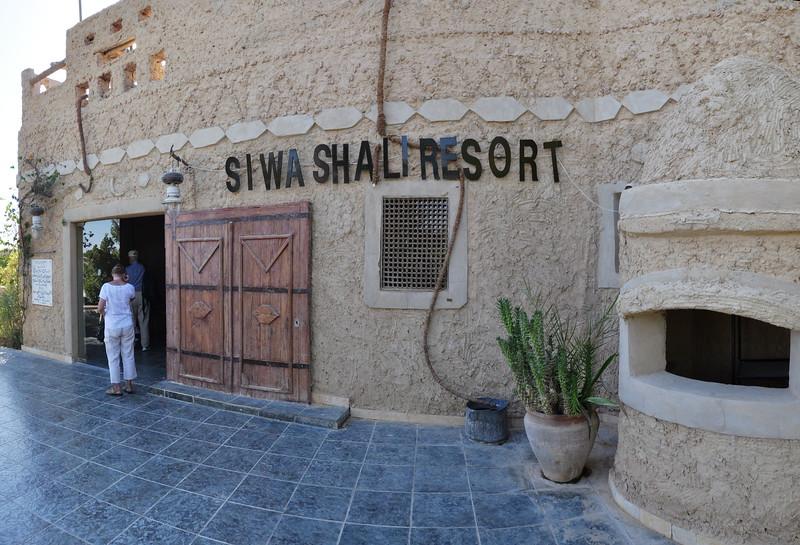 2010-11-06  543  Siwa - Front Door of the Siwa Shali Resort