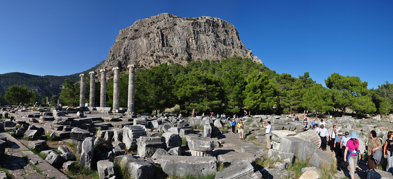 2010-10-31  771  Priene - The Temple of Athena, with the Acropolis in the Background
