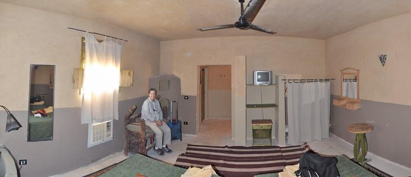 2010-11-05  064  Siwa - Our Bedroom at the Siwa Shali Resort