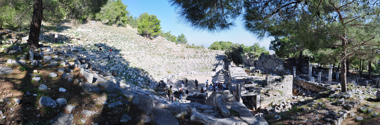 2010-10-31  727  Priene - The Hellenistic Theater, Capable of Holding 5000 People