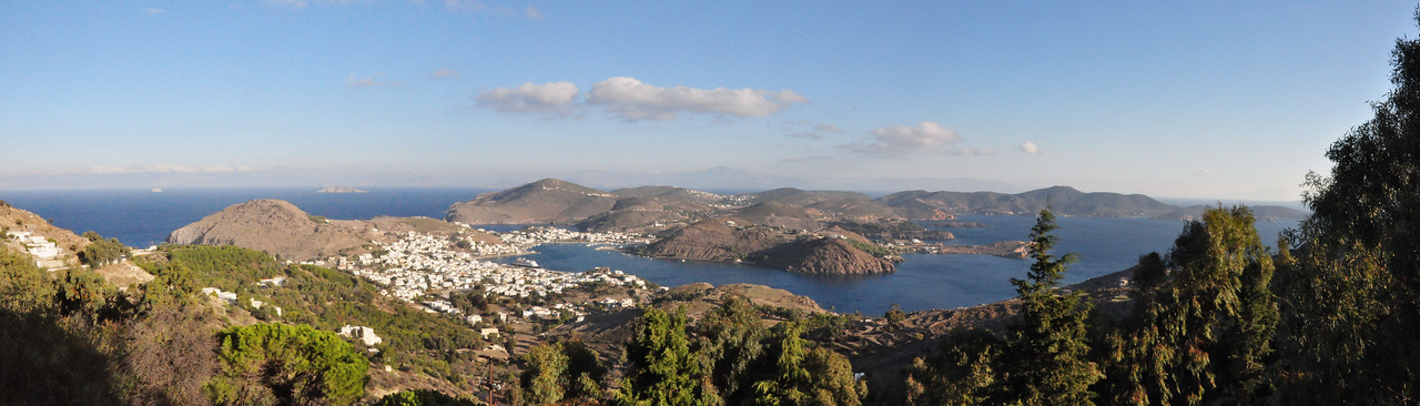 2010-10-30  024  Patmos - View from the Monestary of St. John the Theologian