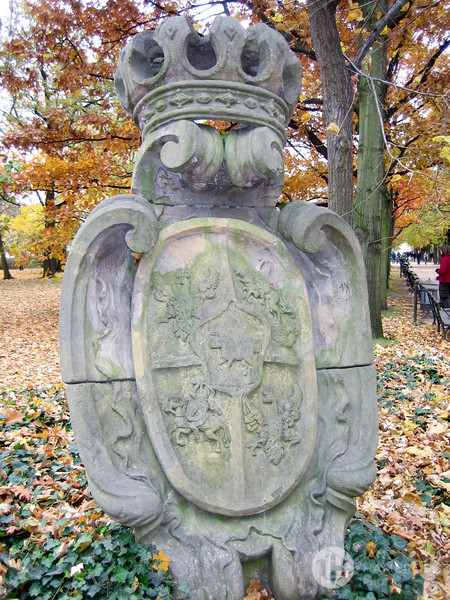 Royal Coat of Arms in the Park