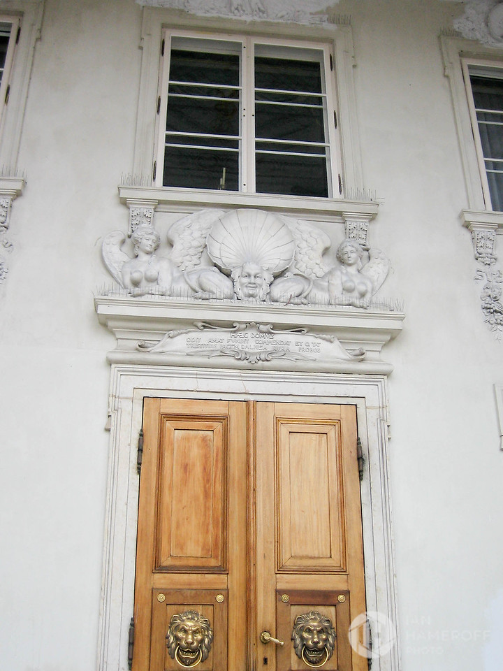 Rear Entrance to Łazienki Palace
