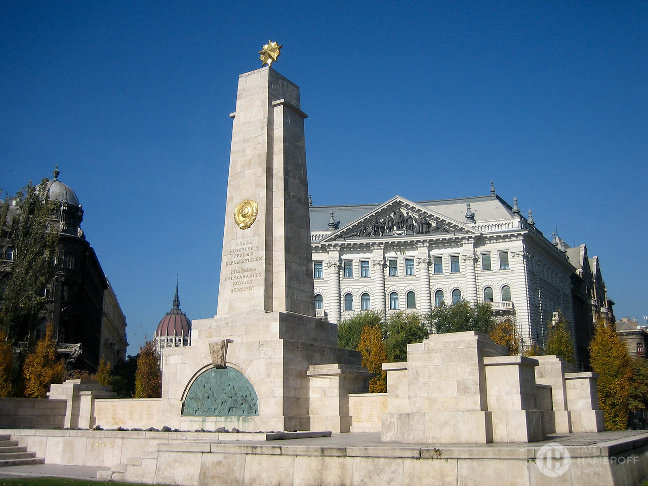 Soviet Red Army Memorial in Freedom Square
