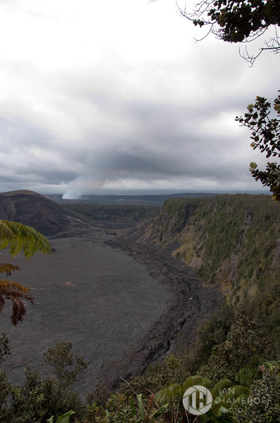 Kīlauea Iki Crater and Kīlauea