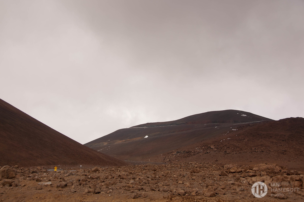 En Route to the Summit of Mauna Kea