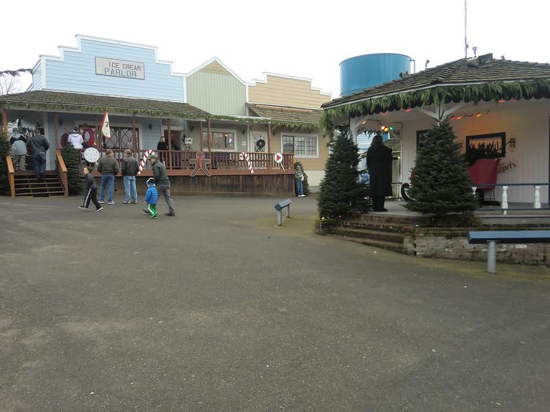 Dairyville / Santaland at the Alpenrose Dairy.