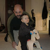 Rocking horse from Nonni & Papa!