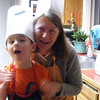 Making Christmas cookies with Nonni
