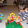 Fire station Legos from Grandpa Tif!