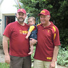 Three generations of cardinal and gold!!