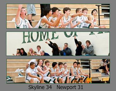 Skyline C vs Newport, 02-07-11