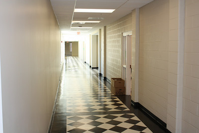 Arts and Science Wing main hallway