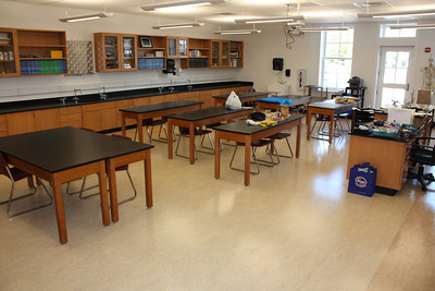 Middle School science classroom
