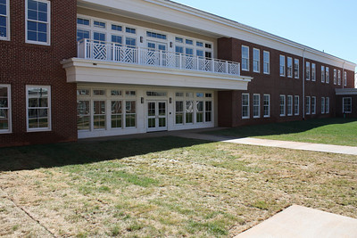 outside view of the Lower School Wing