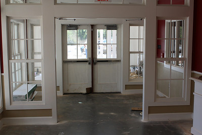 Inside the main entrance to the Learning Village - Lower School Wing