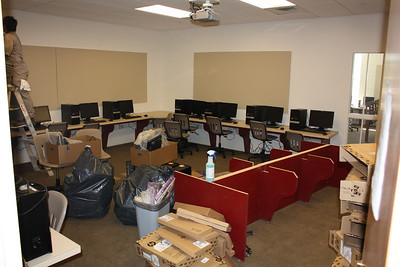 Computer lab adjacent to Learning Village Library