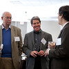 November 6, 2010 | GW's Environmental Law Program 40th Anniversary Celebration<br /> <br /> From left to right: Event attendees David Whalin and Will Irwin with Professor Glicksman.<br /> <br /> (photo by Jessica McConnell)
