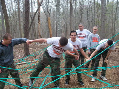 2011 Sophomore Retreat at Goose Neck, VA