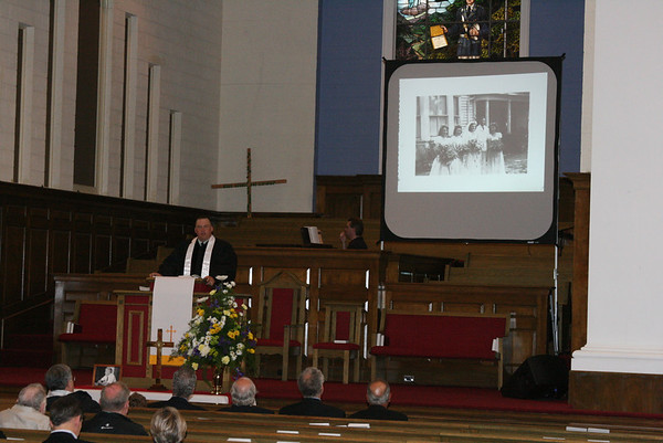 Col. Andrew Todd Chapel Service