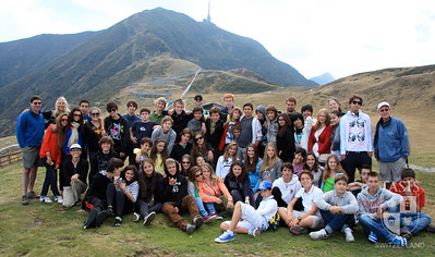 Class Outings 2010 Grade 9 - Mount Tamaro