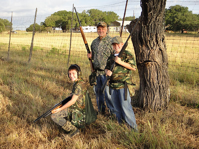 Opening Weekend Dove with the Lawrences 2010
