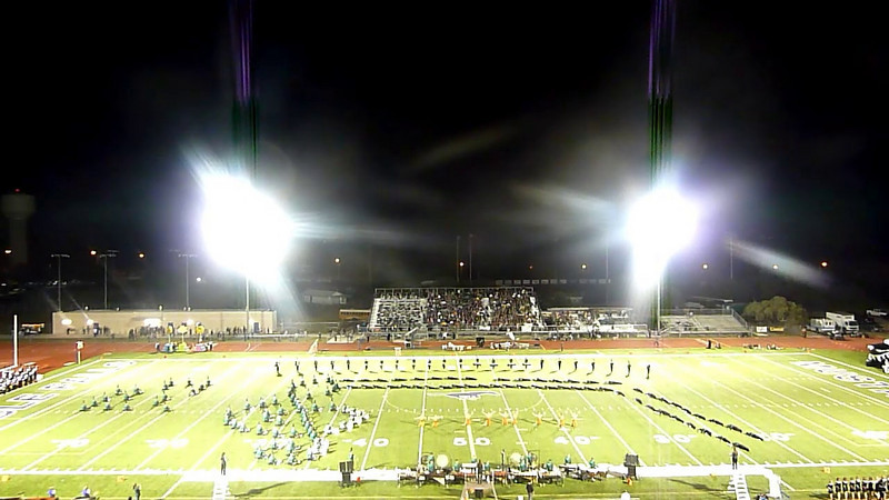 CPHS vs Marble Falls HS - October 15, 2010 - Halftime Performance (Wide)