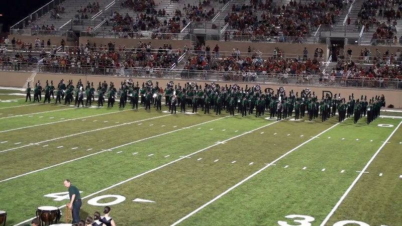 CPHS vs Westwood - Halftime Performance - August 27, 2010