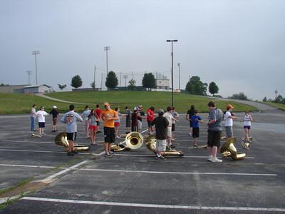 Freshman Band Camp - Brass - Taken By Coleen Pruitt