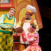 D. Scott Withers, Dwayne Hartford, and Katie McFadzen in Childsplay's <i>A Year With Frog and Toad</i>. Photo Credit: Heather Hill