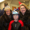 skier Blake Schwarts with one of the Snow Princesses and Klondike Kate (Anita McColley)