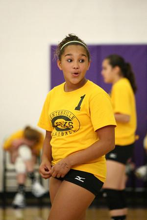 2010 Centerville Middle School Girls Volleyball