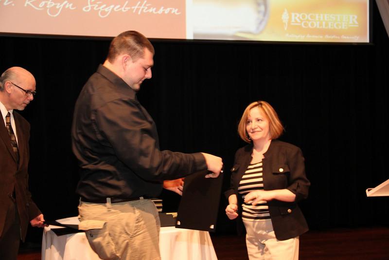 Brian Potthast: Psychology Research Award