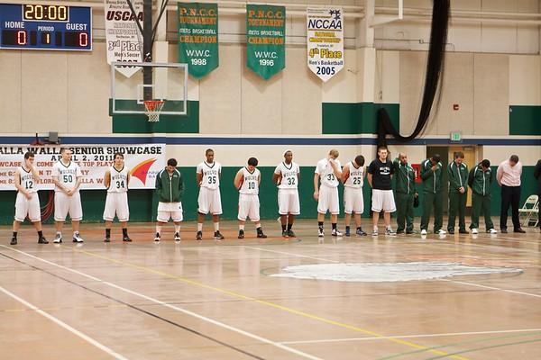 02-08-11 Mens Basketball vs Multnomah University
