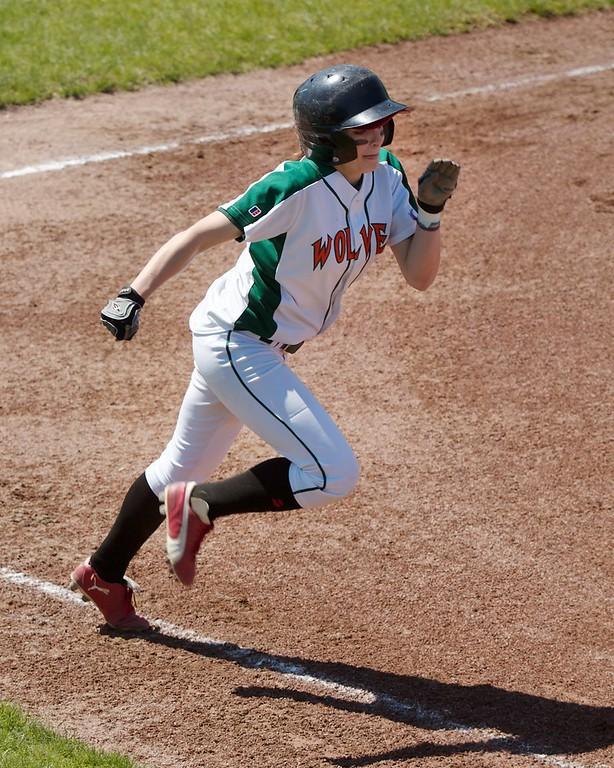 05-01-11 Women's Softball Game 1