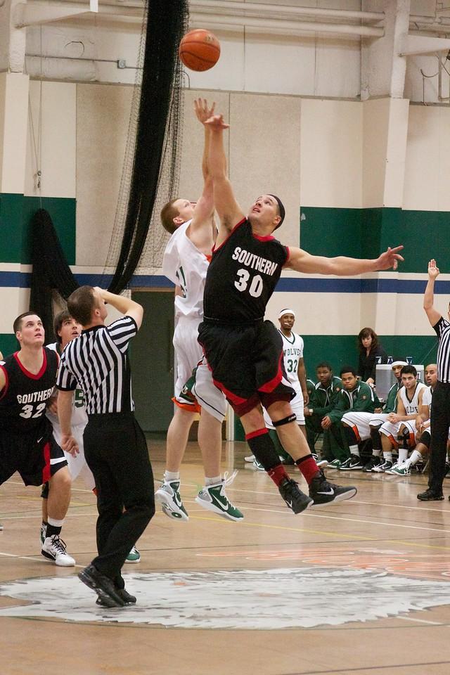 11-13-10 Men's Basketball vs Southern Oregon