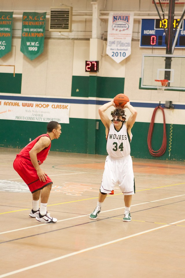 12-03-10 Men's Basketball vs Univ of Montana Western