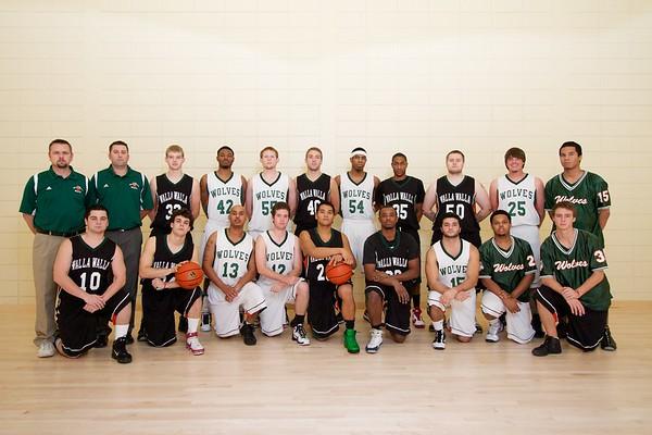 2010-2011 Men's Basketball Team Photo