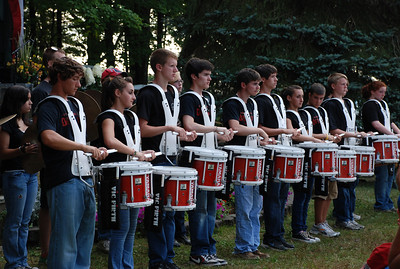 Drumline Performance at Kid's Night OHD
