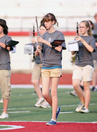 BACF Football Game Band Pictures