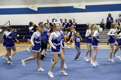 Cheer Competition at Scott