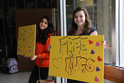 Free Hugs and Chocolate ...