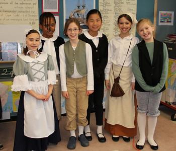 4th Grade Celebrates the Mayflower.