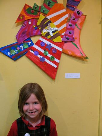 Kindergarten Art at Red Green Blue
