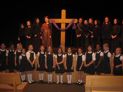 Stations of the Cross Prayer Service Led by 4th Grade