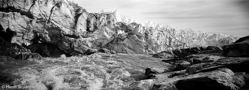 Melting glaciers of Kangerlussuaq.